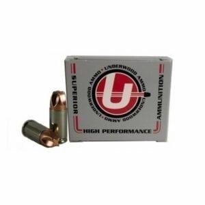9mm Luger +P   Underwood - Xtreme Defender - 90 Grain - 20 Rounds
