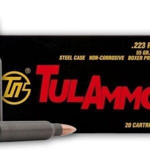 .223   Tula - FMJ - 55 Grains - 20 Rounds