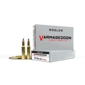Varmageddon 222 Rem 40gr FB Tipped Ammo (20ct)