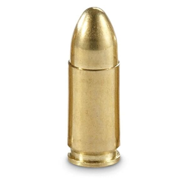FREE SHIPPING - 9mm - BRASS - FMJ - 115 Grains - NEW - 1000 Round Case 20 x 50 round boxes