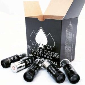 "(FREE SHIPPING) BLACK ACES TACTICAL 12 GA 00 BUCK 9 PELLET 2 3/4"" 250 RND CASE"